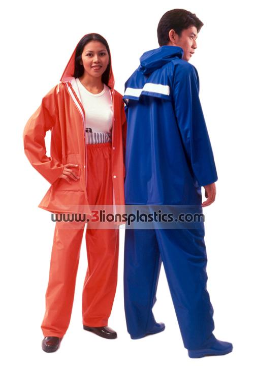 30-RG014 เสื้อกันฝนผู้ใหญ่ แบบเสื้อ+กางเกง - โรงงานผลิตเสื้อกันฝน