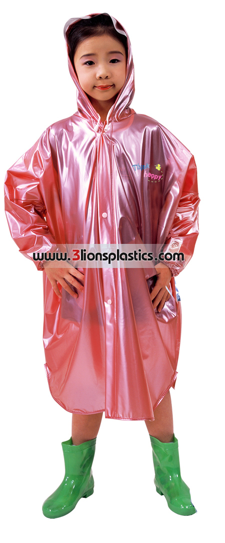 30-RC033 เสื้อกันฝนเด็ก แบบค้างคาว- โรงงานผลิตเสื้อกันฝน